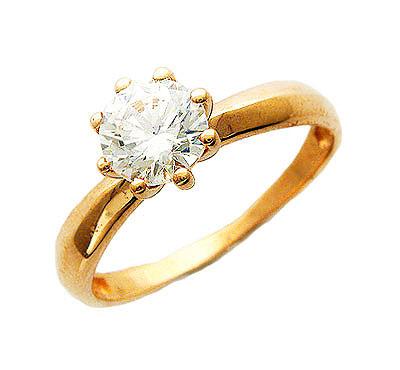 Купить Кольца Золотое кольцо  01K114861  Золотое кольцо  01K114861