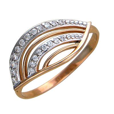 Золотое кольцо  01K115635 от Bestwatch.ru