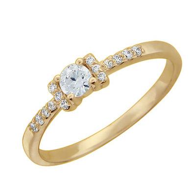 Золотое кольцо 01K115978 фото