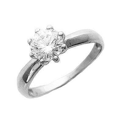 Купить Золотое кольцо 01K124861, Кольцо, Золото белое 585., Ювелирное изделие