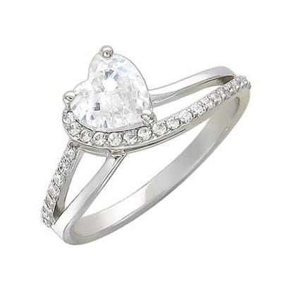 Купить Золотое кольцо 01K126244, Кольцо. Золото белое 585., Ювелирное изделие