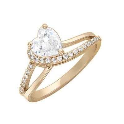 Купить Золотое кольцо 01K136244, Кольцо. Золото желтое 585., Ювелирное изделие