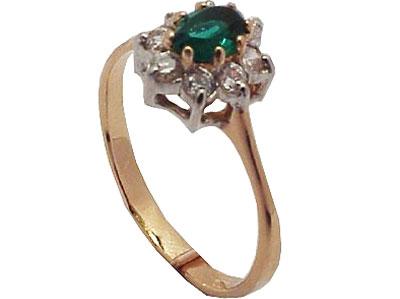 Золотое кольцо 01K210584