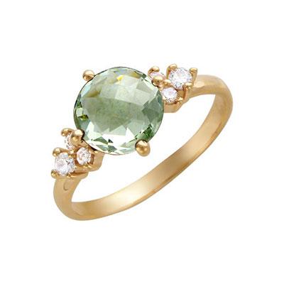 Золотое кольцо 01K315072-4 фото