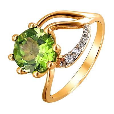 Золотое кольцо 01K315358-4 фото
