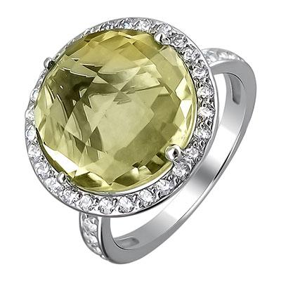 Золотое кольцо 01K325073-4 фото