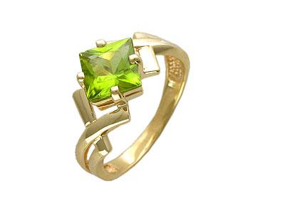 Кольцо из желтого золота.