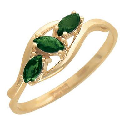 Золотое кольцо 01K513570-2 фото