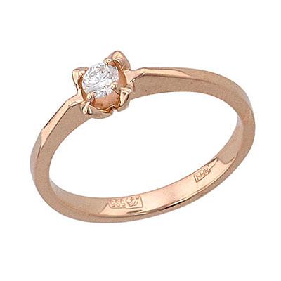 Золотое кольцо 01K615755 фото