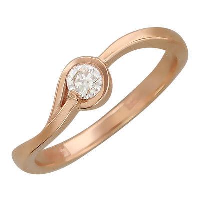 Золотое кольцо 01K616732 фото