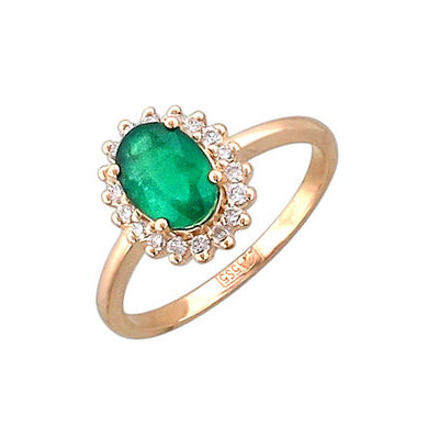Золотое кольцо 01K616902 фото