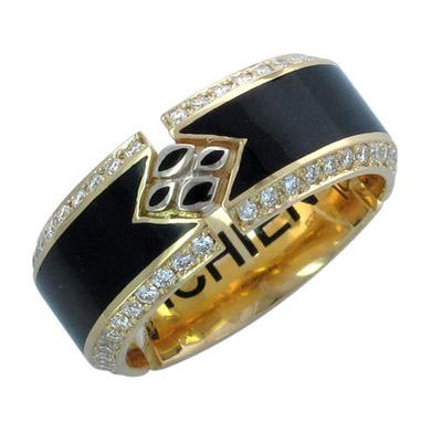 Золотое кольцо 01K646009UL фото