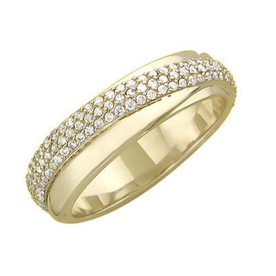 Золотое кольцо 01K646303 фото