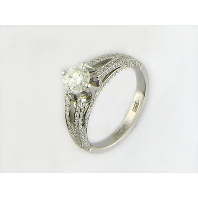 Ювелирное изделие Золотое кольцо  01K674592