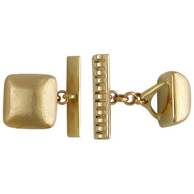 Золотое колье  01N010172 - Ювелирное изделиеЗапонки, красное золото 585 пробы. Примерный вес изделия - 8.91 гр. .<br>