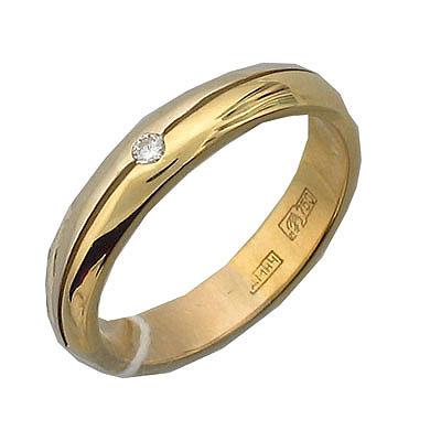 Купить Золотой крест 01O160056, Кольцо, Золото комбинированное 585., Ювелирное изделие