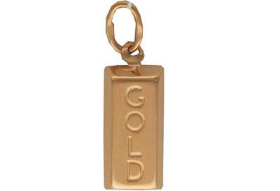 Золотой подвес  01P010765