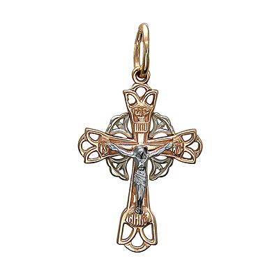 Золотой крест  01R060722 от Bestwatch.ru