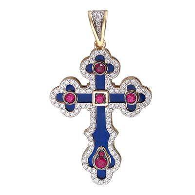 Золотой крест  01R630987U-1
