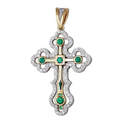 Золотой крест  01R680914U-1