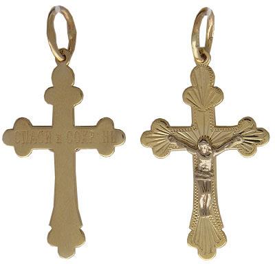 Золотой крест  01R760526J