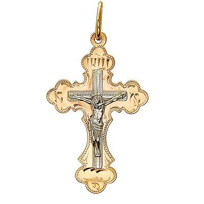 Золотой крест  01R760703 от Bestwatch.ru