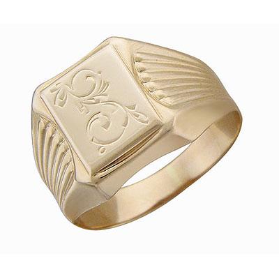 Кольцо, Золото красное 585. - Золотой подвес  01T716216