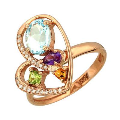 Золотое кольцо 65K610369 фото