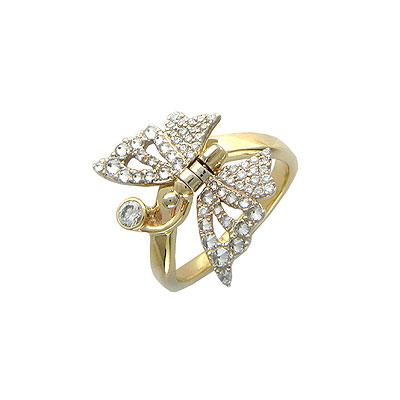 Золотое кольцо G9K660384 фото