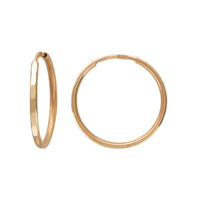 Золотые серьги  T1C71121015