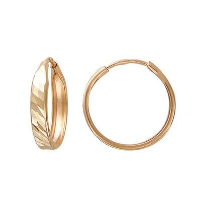 Золотые серьги T1C71230515