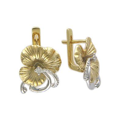 Ювелирное изделие Золотые серьги W5C664029.