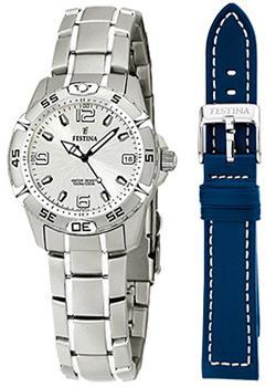 fashion наручные  женские часы Festina 16172.1. Коллекция Sport