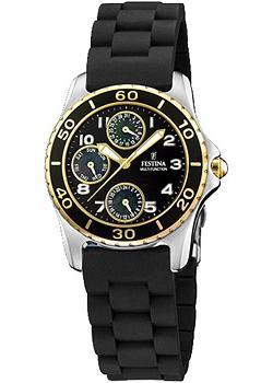 fashion наручные  женские часы Festina 16201.A. Коллекция Multifunction