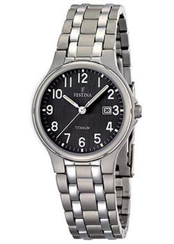 fashion наручные  женские часы Festina 16461.3. Коллекция Calendario Titanium