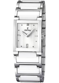 fashion наручные  женские часы Festina 16536.1. Коллекция Ceramic