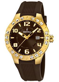 fashion наручные  женские часы Festina 16582.3. Коллекция Golden Dream