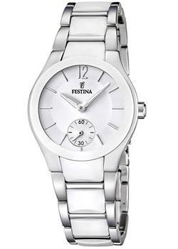 fashion наручные  женские часы Festina 16588.1. Коллекция Ceramic