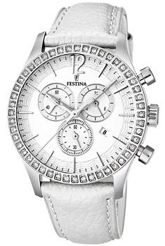 Купить Часы женские Швейцарские наручные  женские часы Festina 16590.1. Коллекция Chronograph  Швейцарские наручные  женские часы Festina 16590.1. Коллекция Chronograph