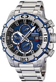 Купить Часы мужские Швейцарские наручные  мужские часы Festina 16599.2. Коллекция Chronograph  Швейцарские наручные  мужские часы Festina 16599.2. Коллекция Chronograph