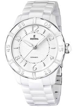 fashion наручные  женские часы Festina 16621.1. Коллекция Ceramic