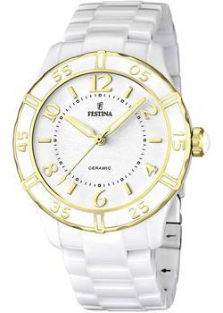 fashion наручные  женские часы Festina 16633.1. Коллекция Ceramic