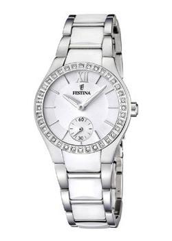 fashion наручные  женские часы Festina 16637.1. Коллекция Ceramic