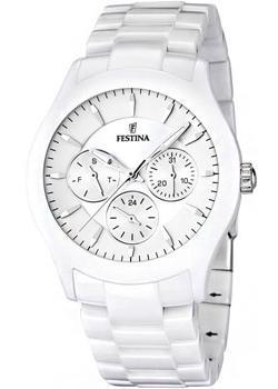 fashion наручные  женские часы Festina 16639.1. Коллекция Ceramic
