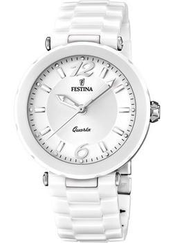 fashion наручные  женские часы Festina 16640.1. Коллекция Ceramic
