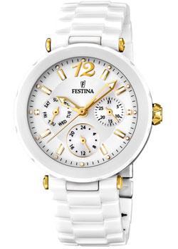 Купить Часы женские Швейцарские наручные  женские часы Festina 16641.3. Коллекция Ceramic  Швейцарские наручные  женские часы Festina 16641.3. Коллекция Ceramic