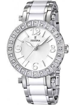 fashion наручные  женские часы Festina 16643.1. Коллекция Ceramic