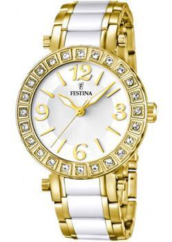 fashion наручные  женские часы Festina 16644.1. Коллекция Crystal