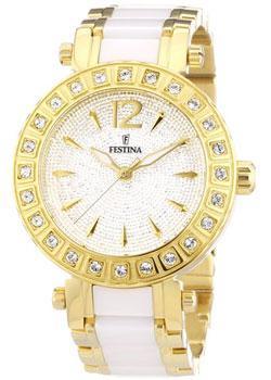 fashion наручные  женские часы Festina 16644.3. Коллекция Crystal