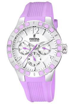 fashion наручные женские часы Festina 16675.2. Коллекция Sport